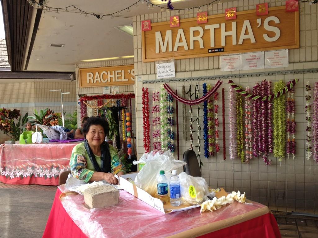 airport lei sellers Myrna Milan Chun