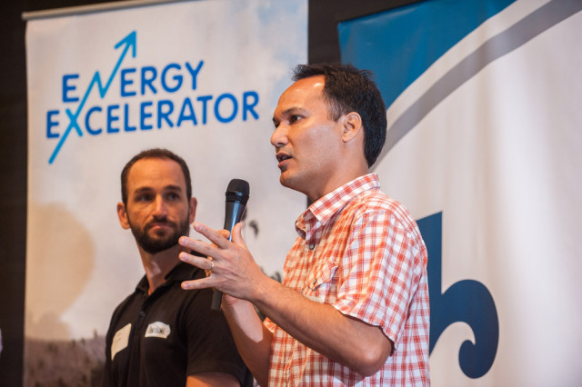 Olin Lagon, Shifted Energy, Startup Paradise Demo Day