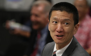 Attorney General Doug Chin.  13 feb 2015. photograph Cory Lum/Civil Beat