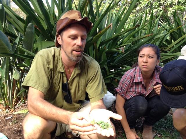 Nat Bletter food forager Slow Food Oahu