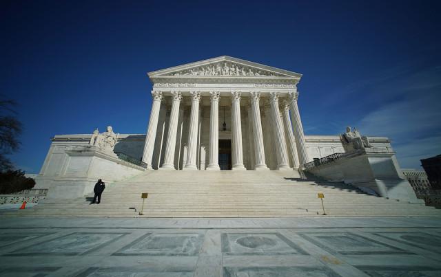 Supreme Court Building. Washington DC. 23 feb 2015. photograph Cory Lum/Civil Beat