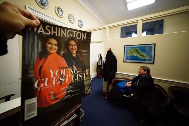 Washington Magazine cover Tulsi Gabbard. 23 feb 2015. photograph Cory Lum/Civil Beat