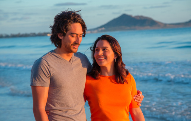 Tulsi Gabbard and fiance Abraham Williams