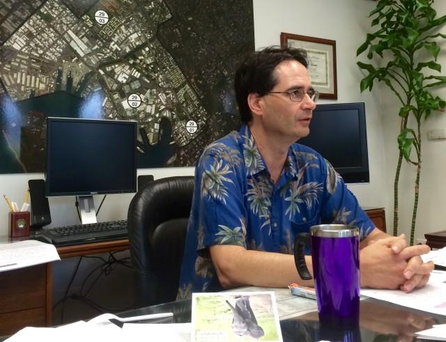 Rep. Karl Rhoads in office