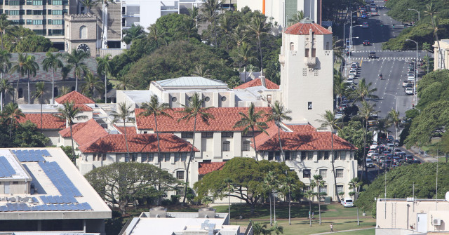 Honolulu Hale. 27 march 2015. photograph Cory Lum/Civil Beat