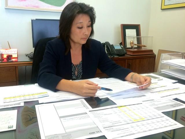 Sylvia Luke budget office