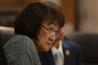 Honolulu City Council member Ann Kobayashi.  1 apr 2015.  photograph Cory Lum/Civil Beat