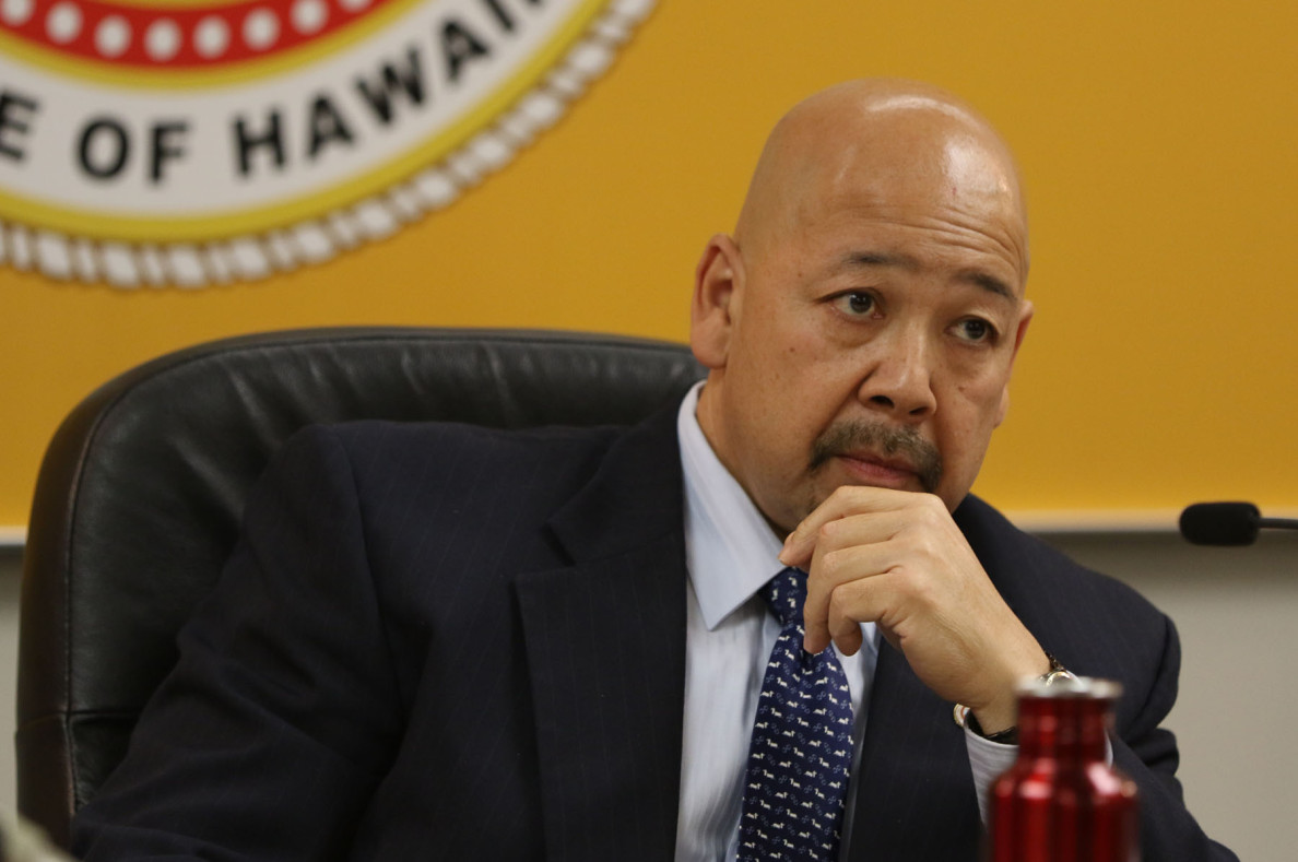 Honolulu City Council Chair Ernie Martin.  1 apr 2015. photograph Cory Lum/Civil Beat
