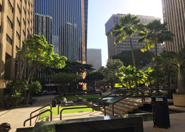 Bishop Square in Honolulu
