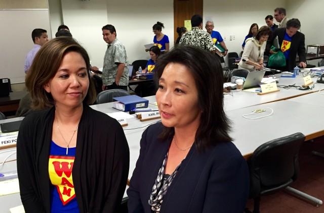 Tokuda and Luke budget conference