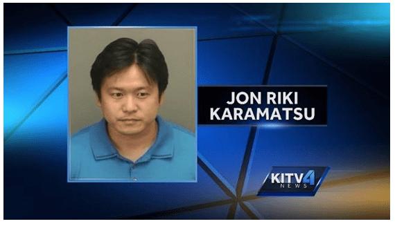 Jon Riki Karamatsu arrest photo