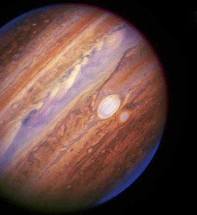 Keck Jupiter screen shot