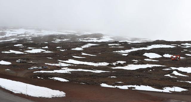 TMT Mauna Kea overall site2.  9 april 2015. photograph Cory Lum/Civil Beat