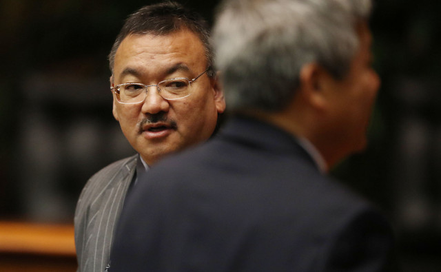 House Vice Speaker John Mizuno.  27 april 215. photograph by Cory Lum/Civil Beat