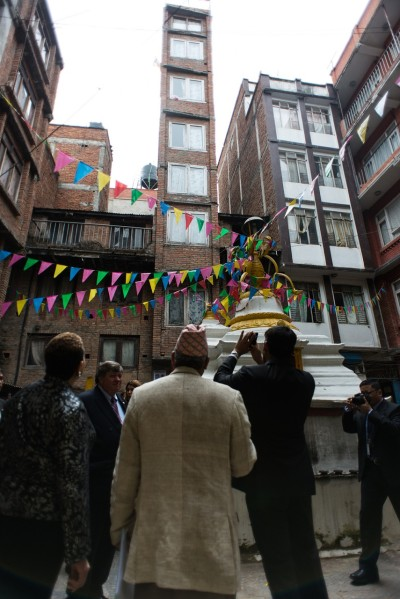 Nepal earthquake walk prior to 2015 quake