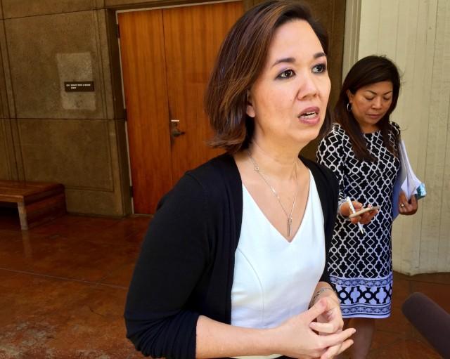 Jill Tokuda press conference