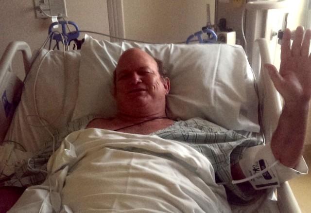 Lawrence Boyd after stroke