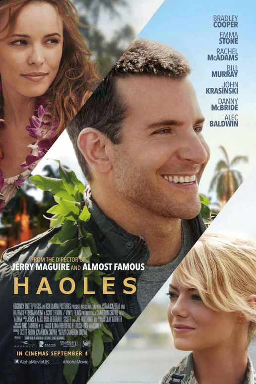 "altered poster for ""Aloha"""