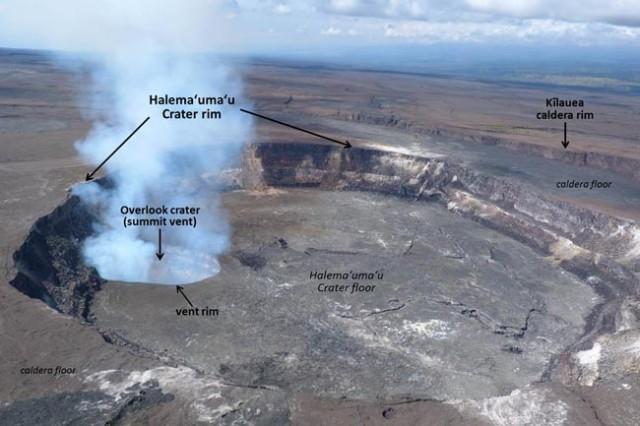 Kilauea summit