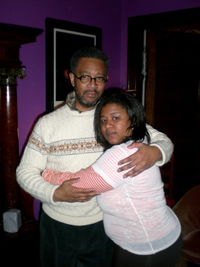 Cora Spearman and her father