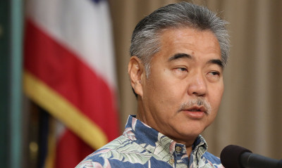 Governor David ige during press conference announcing several bills he will veto. 29 june 2015 photograph by Cory Lum/Civil Beat