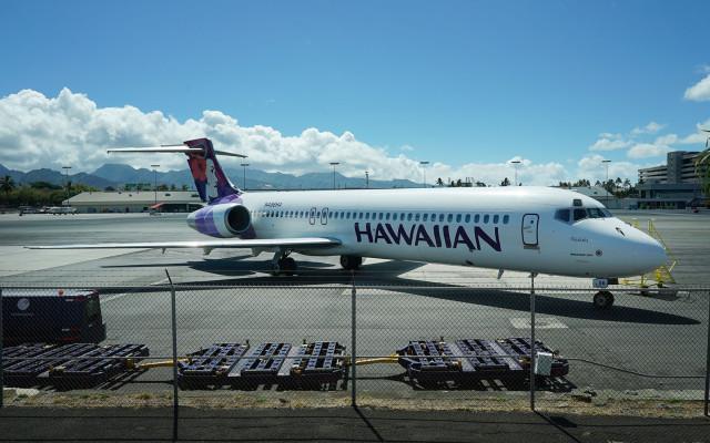 Hawaiian Airlines. 22 june 2015. photograph Cory Lum/Civil Beat