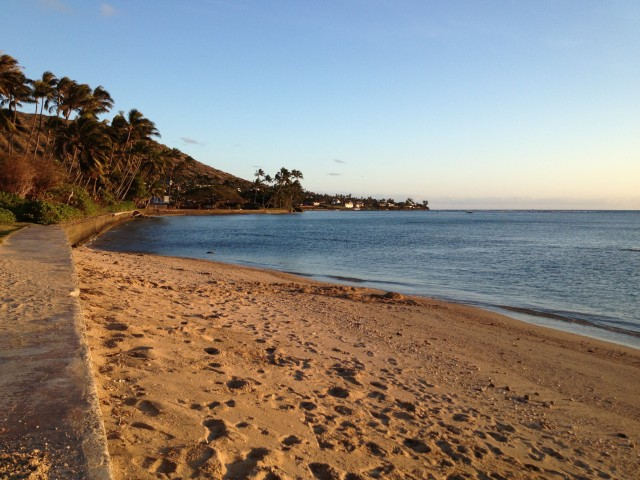 Maunalua Bay, which leaders are banding together to restore through the Imua Maunalua project.