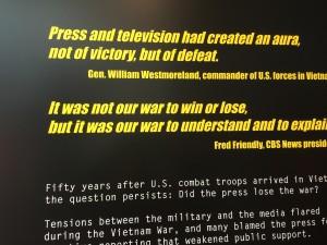 Vietnam War reporting