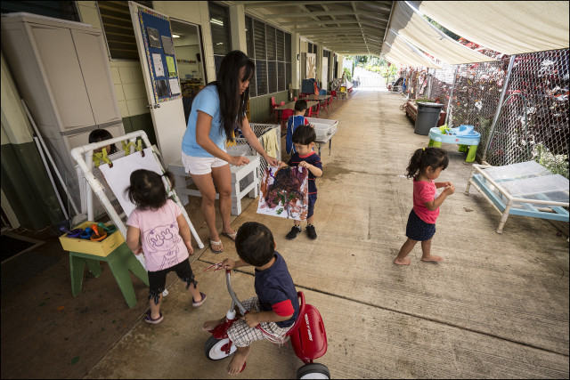 Keiki Child Center of Hawaii in Pearl City. 4.30.14
