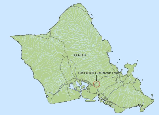 Red Hill map