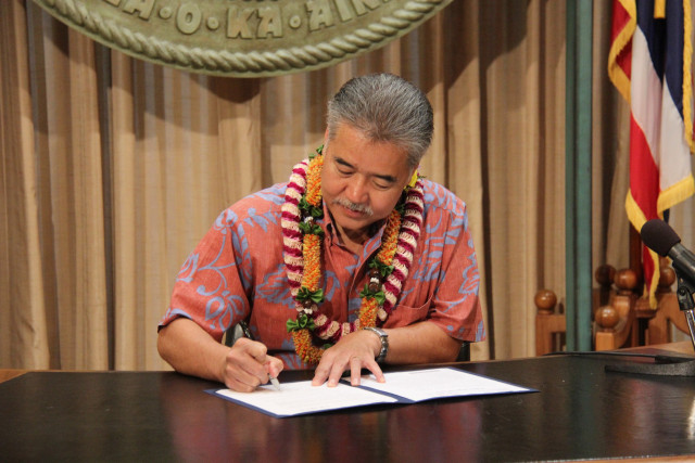 Gov. David Ige hopes annual reports on rail will help provide better oversight of the $6 billion project, which is the largest public works undertaking in the state's history.