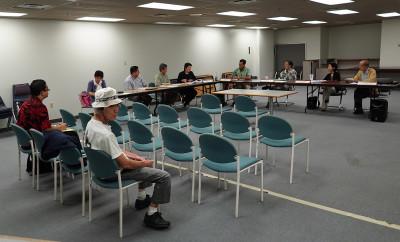 Wide view. Campaign Spending Commission. 22 july 2015. photograph Cory Lum/Civil Beat