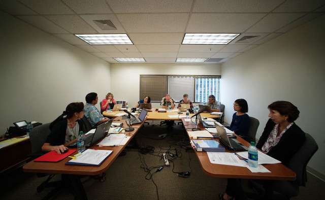 Hawaii State Ethics Commission .  22 july 2015. photograph Cory Lum/Civil Beat