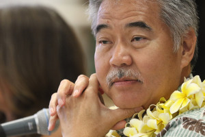 Governor David Ige at Lanakila Elementary School cafeteria town hall meeting. 14 july 2015. photograph Cory Lum/Civil Beat