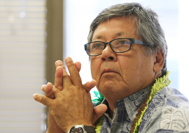 New Hawaii State Ethics Commissioner Reynaldo Graulty. 22 july 2015. photograph Cory Lum/Civil Beat