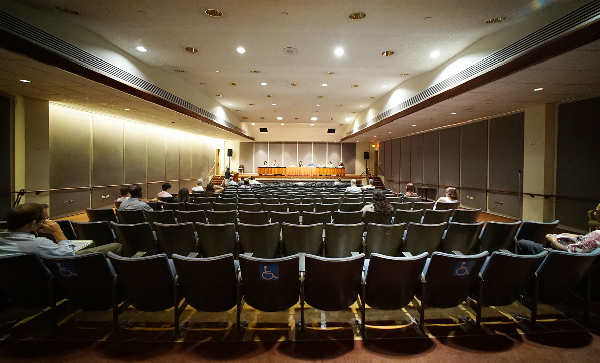 There wasn't a big turnout for the public meeting, even though the chair of the advisory committee said discrimination against Micronesians is 'one of the most important civil rights issues presently facing Hawaii.'