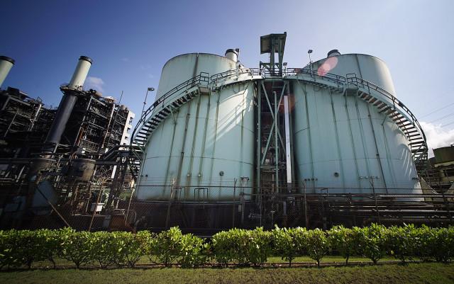 Hawaiian Electric plant located in pearl City. 22 aug 2015. photograph Cory Lum/Civil Beat