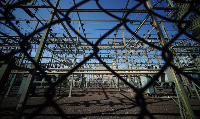 Hawaiian Electric plant in Pearl City.  22 aug 2015. photograph Cory Lum/Civil Beat