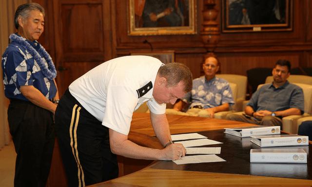 2015 storm preparedness signing