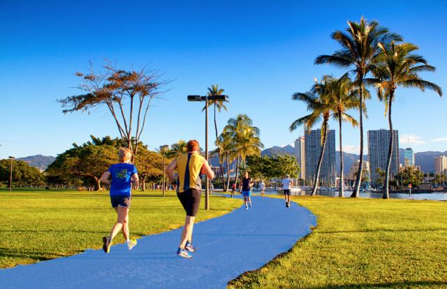 Magic Island Pathway option - blue