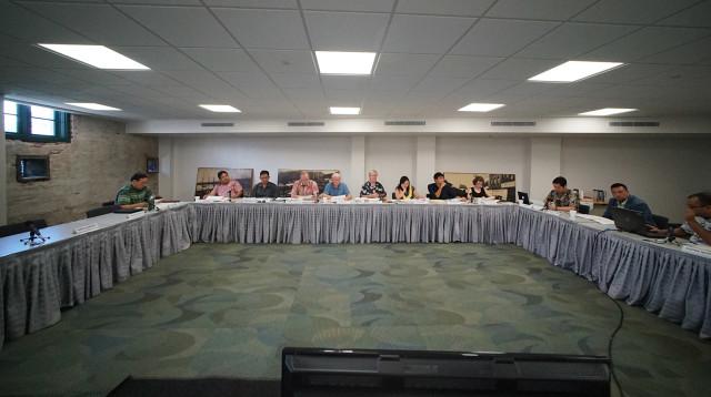 HCDA Hawaii Community Development Authority meeting. 2 sept 2015. photograph Cory Lum/Civil Beat
