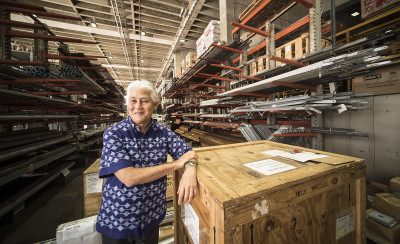 Chief Executive Officer and President Hawaiian Electric Company Alan Oshima. photograph Cory Lum/Civil Beat