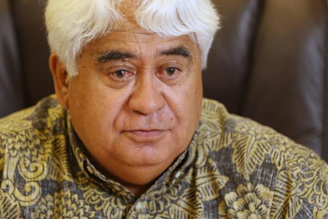 Office of Hawaiian Affairs Board Chair Robert Lindsey Jr.