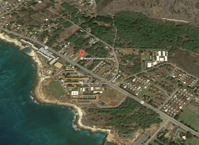 The city is proposing to develop modular housing for homeless families next to Maluhia Lutheran Church in Waianae.