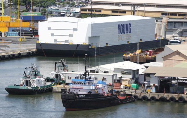 Hawaiian Electric bought Young Brothers and its tug and bar operation in 1986. HECO sold it for a loss in 1999.