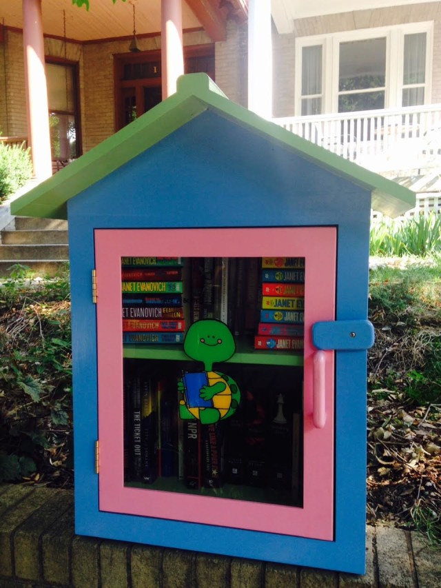 Little Free Library in Washington DC