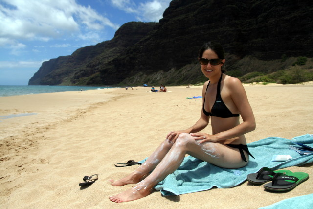 A new study has found that swimming in the ocean after applying many types of sunscreen can kill corals.