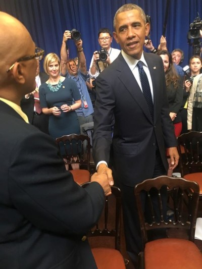 Last month, President Barack Obama met with state Sen. Will Espero and about 50 other Democratic lawmakers from across the country as part of his push for the Democratic agenda -- including the reform of the criminal justice system -- at the state level.