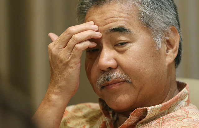 Gov. Ige held a press conference Tuesday to allay fears over whether Hawaii might take in Syrian refugees, and in the process, potentially open itself to terrorists.