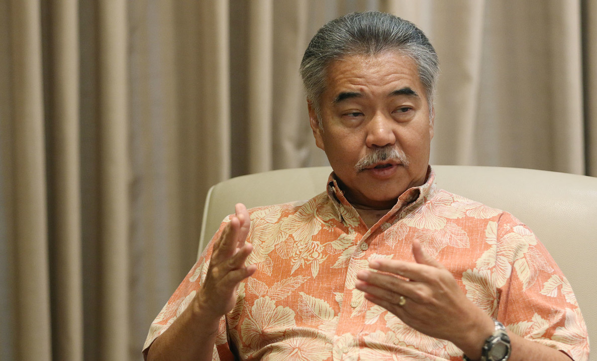 Gov. David Ige is a trained electrical engineer in charge of Hawaii at a time when the state's energy future is being mapped out.